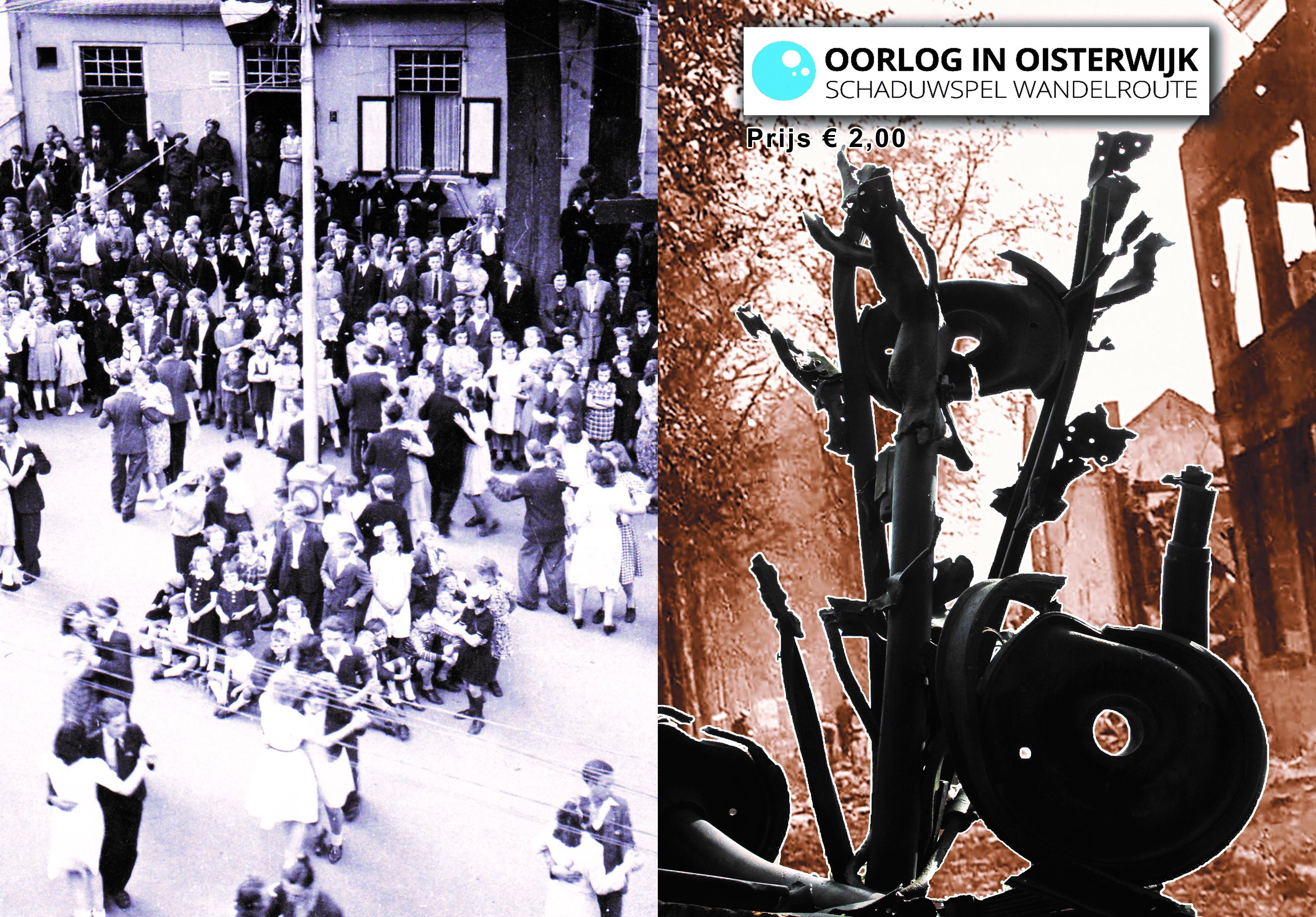 """De app is te downloaden via de appstore (Zoek op """"Oorlog in Oisterwijk""""), de boekjes zijn verkrijgbaar bij Tiliander én bij Hotel Bos en Ven."""